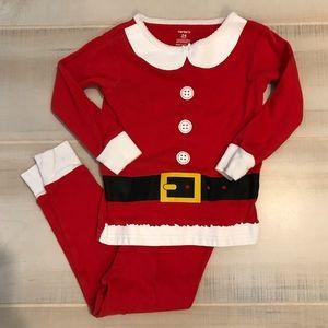 Carter's Santa Christmas Holiday Pajamas Set 24 M